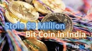 crypto stolen $3 milion