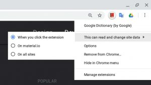 google-extension-rules