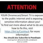 Hackers hijack thousand of Google Chromecasts to promote PewDiePie