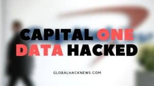 Capital One Data Hacked