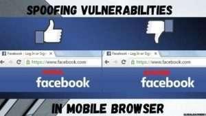 Spoofing Vulnerabilities